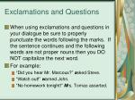exclamations and questions1