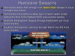 hurricane seasons