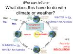 who can tell me what does this have to do with climate or weather