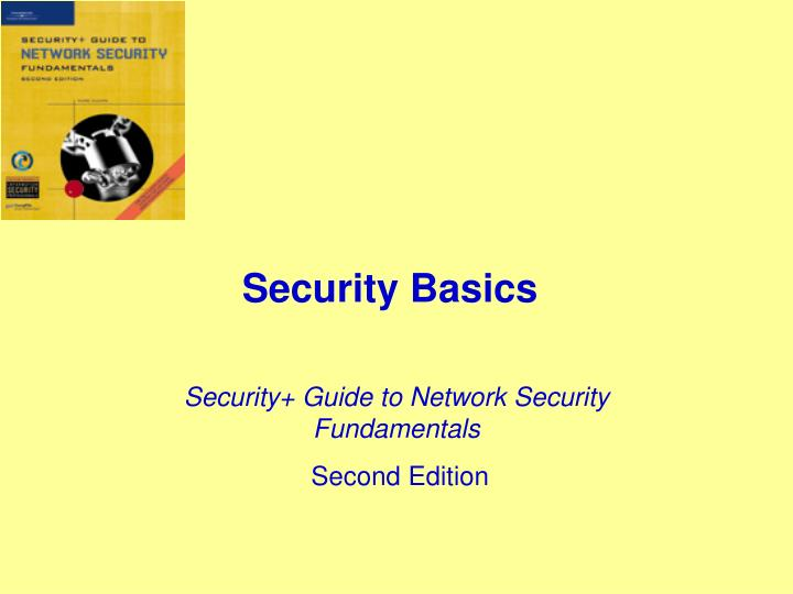 security basics n.