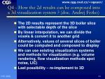 q4 how the 2d results can be composed into a 3d visualization system doc andrej ferko