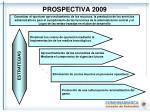 prospectiva 2009