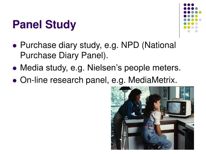 Panel Study
