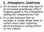3 atmospheric conditions