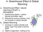 4 greenhouse effect global warming
