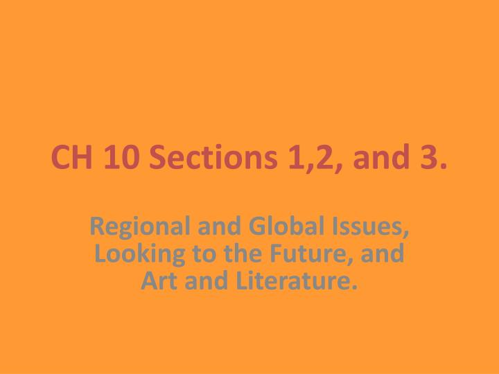 ch 10 sections 1 2 and 3 n.