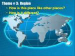 theme 3 region