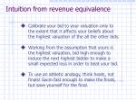 intuition from revenue equivalence