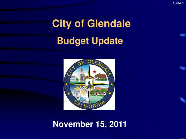 city of glendale n.