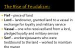 the rise of feudalism1