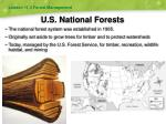 u s national forests