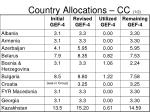country allocations cc 1 2