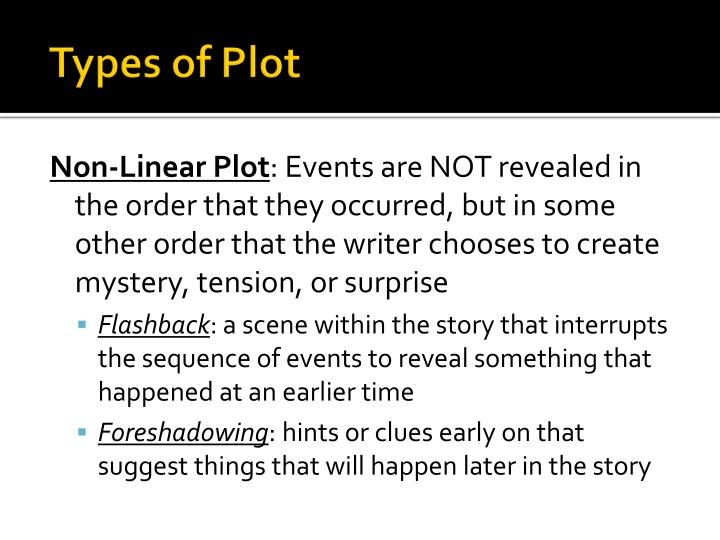 types of plot n.