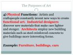 the purposes of art4