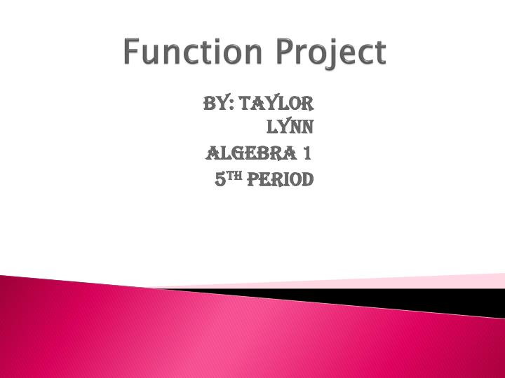 function project n.