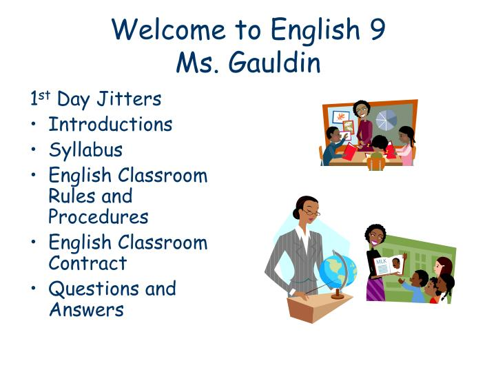 welcome to english 9 ms gauldin n.