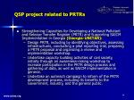 qsp project related to prtrs