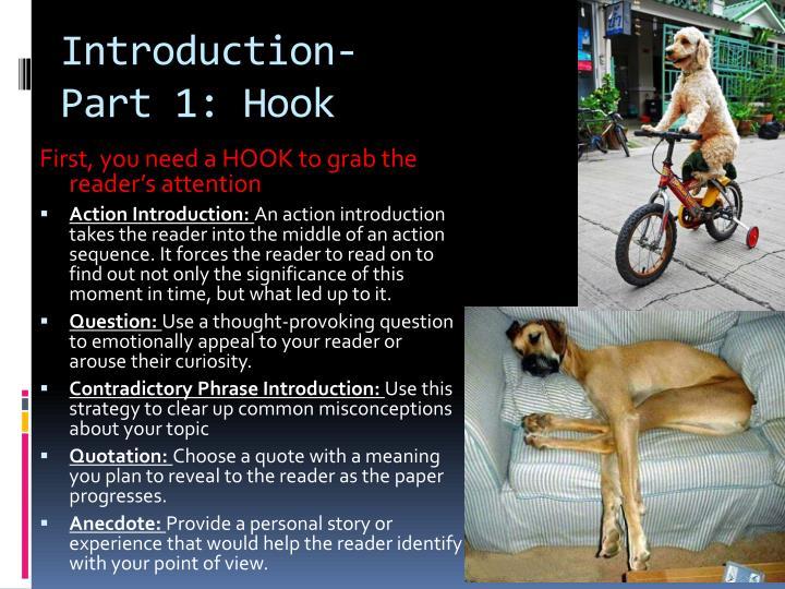 Introduction- Part 1: Hook