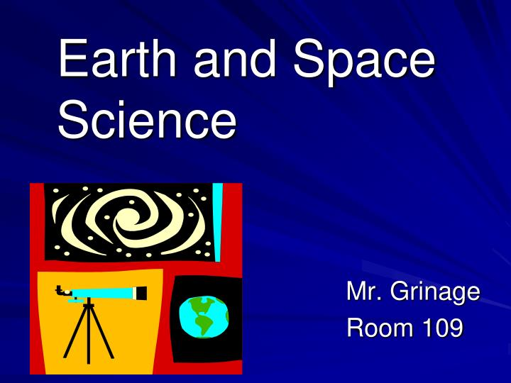 earth and space science n.