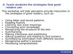 6 teach students the strategies that good readers use