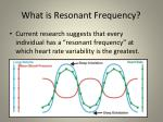 what is resonant frequency