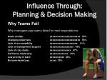 influence through planning decision making1