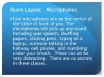 room layout microphones1