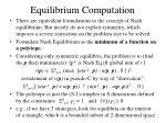 equilibrium computation3
