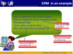 srm in an example