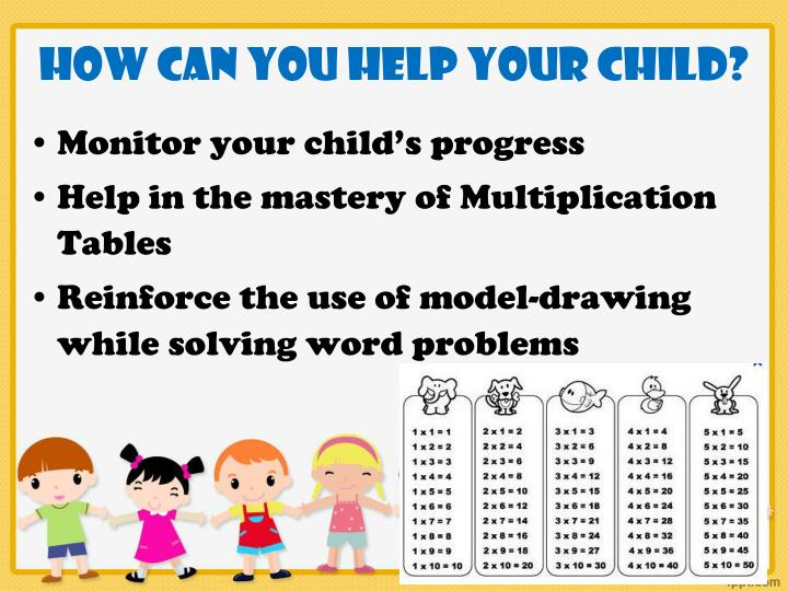 How can you help your child?