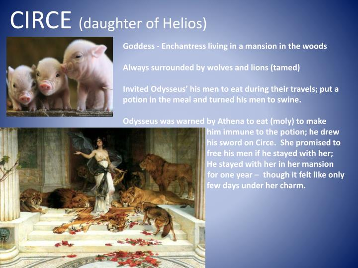 circe daughter of helios n.