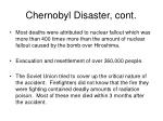 chernobyl disaster cont