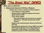 the great war wwi2