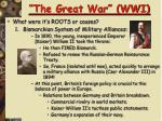 the great war wwi3