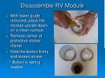 disassemble rv module1