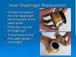 inner diaphragm replacement