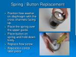 spring button replacement