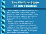 the welfare state an introduction1