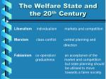 the welfare state and the 20 th century3