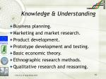 knowledge understanding