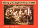signing of the mayflower compact 1620