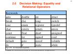 2 6 decision making equality and relational operators4