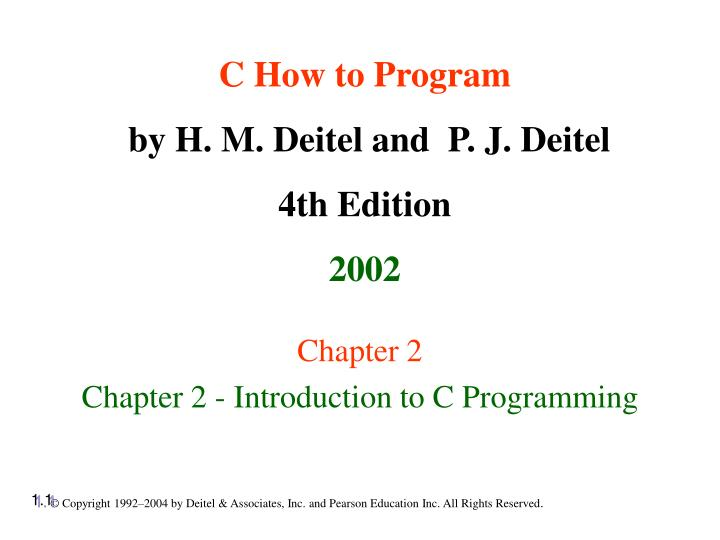 chapter 2 chapter 2 introduction to c programming n.
