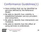 conformance guidelines 1