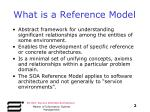 what is a reference model