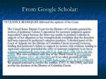 from google scholar