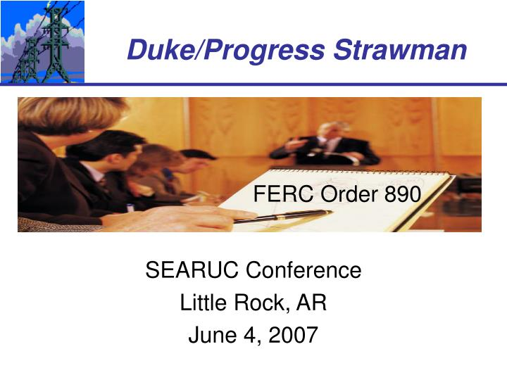 searuc conference little rock ar june 4 2007 n.