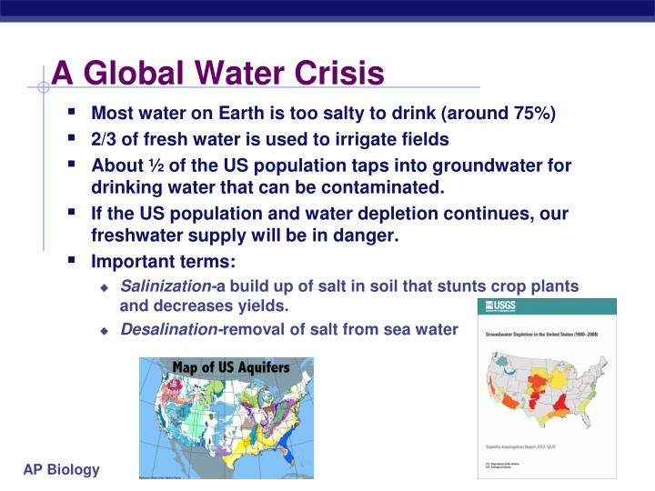 A Global Water Crisis