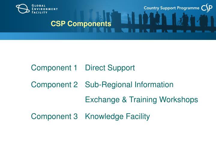 CSP Components