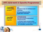 fp7 grid work in specific programmes